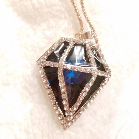 Betsey Johnson Jewelry - Betsey Johnson Diamond Necklace 💎